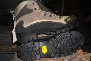 Asolo boot with new Vibram resole
