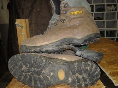 Asolo Boot Needs Repair