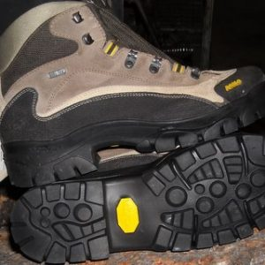 Asolo Hiking Boot Resole with new Vibram Soles